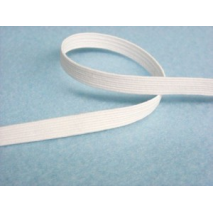 10 metres x 5mm Braided Superior Quality Elastic White or Black Sewing Buddies Australia