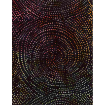 Forest- Dotty Spiral - W108in Sewing Buddies Australia