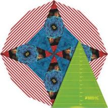 "9.5"" Kaleidoscope Patchwork Template - Matilda's Own Sewing Buddies Australia"