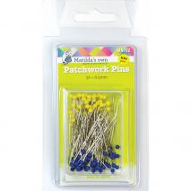Patchwork Pins (100) 0.5mm x 36mm Matilda's Own Sewing Buddies Australia