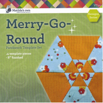 Playing with Hexagons Complete Set Patchwork Template Matilda's Own 3 Sewing Buddies Australia