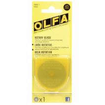 Olfa 45mm Rotary Blades x 1 Sewing Buddies Australia