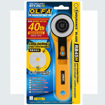 Olfa 45mm Rotary Cutter 2 Sewing Buddies Australia