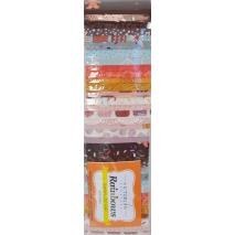 Chocolate Box Rainbow aka Jelly Roll Sewing Buddies Australia