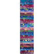 Fireworks Rainbow aka Jelly Roll Sewing Buddies Australia