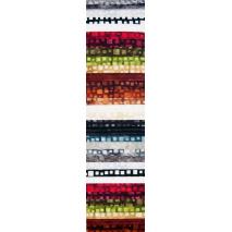 Autumn Squares Rainbow aka Jelly Roll Sewing Buddies Australia