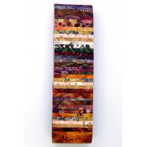 Beach Sunset Rainbow aka Jelly Roll Sewing Buddies Australia