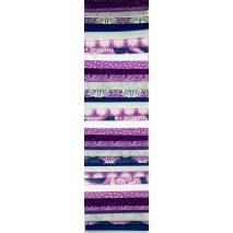 Purple Ice Rainbow aka Jelly Roll Sewing Buddies Australia
