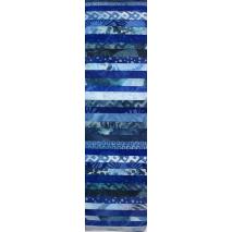 Cobalt Blue Rainbow aka Jelly Roll Sewing Buddies Australia