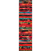 Lava Rainbow aka Jelly Roll Sewing Buddies Australia