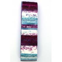 Rose Quartz Rainbow aka Jelly Roll Sewing Buddies Australia