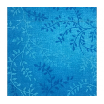 Bright Blue - Tonal Vineyard - W108in Sewing Buddies Australia