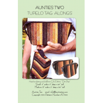 Tupelo Tag Alongs by Aunties Two Patterns ~ Jelly Roll Friendly Sewing Buddies Australia