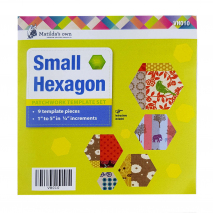 Hexagon Set Sml Patchwork Template Matilda's Own Sewing Buddies Australia