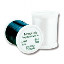 Superior MonoPoly 2200 Yard Spool - Clear or Smoke Sewing Buddies Australia