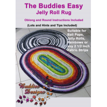 Buddies Easy Jelly Roll Rug Pattern Sewing Buddies Australia