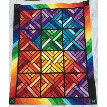 Fractured Paint Box Quilt Pattern by Judy Niemeyer 4 Sewing Buddies Australia