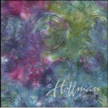 Hoffman Ripple Prism Batik - Wideback Sewing Buddies Australia