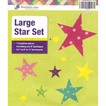 Star Set Large Patchwork Template Matilda's Own - Sewing Buddie Australia