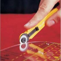 Olfa 18mm Rotary Cutter 2 Sewing Buddies Australia