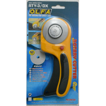 Olfa 60mm Ergonomic Rotary Cutter 2 Sewing Buddies Australia