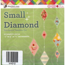 Diamond Set Small Patchwork Template Set Matilda's Own Sewing Buddies Australia