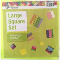 Square Set Large Patchwork Templates Matilda's Own Sewing Buddies Australia