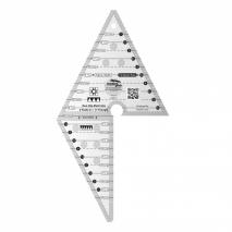 Creative Grids 2 Peaks in 1 Multi-Size Triangle Ruler Sewing Buddies Australia