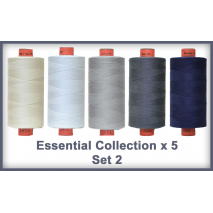 Essentials 5 Colour Set 2 Rasant Thread 1000M Sewing Buddies Australia