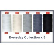 Everyday 5 Colour Set Rasant Thread 1000M Sewing Buddies Australia