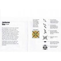 Jackaroo Star Patchwork Template Meredithe Clark 2 Sewing Buddies Australia