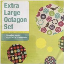 Octagon Set Extra Large Patchwork Template Set Matilda's Own Sewing Buddies Australia