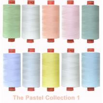 Pastels 10 Colour Set 1 Rasant Thread 1000M Sewing Buddies Australia