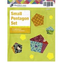 Pentagon Small Set Patchwork Templates Matilda's Own Sewing Buddies Australia