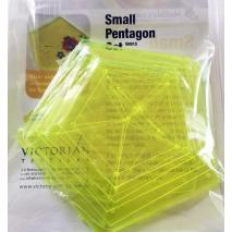 Pentagon Small Set Patchwork Templates Matilda's Own 3 Sewing Buddies Australia