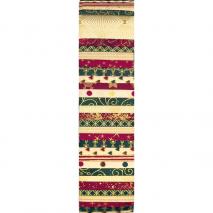 Traditional Christmas Stoff Rainbow aka Jelly Roll Sewing Buddies Australia