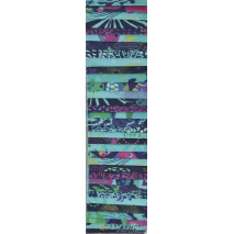 Tropical Lagoon Rainbow aka Jelly Roll Sewing Buddies Australia