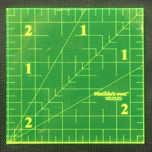 2.5 Inch Square Ruler by Matilda's Own Sewing Buddies Australia