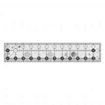 """Creative Grids Quilt Ruler 2.5"""" x 12.5"""" SEE VIDEO Sewing Buddies Australia"""