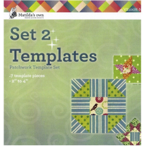 Basics Template Set 2 (H - N) Matilda's Own Sewing Buddies Australia