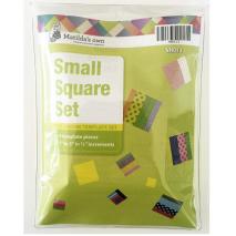Square Set Small Patchwork Templates Matilda's Own Sewing Buddies Australia
