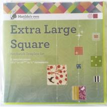 Square Set Extra Large Patchwork Templates Matilda's Own Sewing Buddies Australia