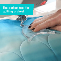 Archie Creative Grids Non-Slip Free Motion Quilting Tool / Ruler SEE VIDEO 4 Sewing Buddies Australia