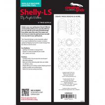 Shelly Low Shank Creative Grids Non-Slip Free Motion Quilting Tool / Ruler 3 Sewing Buddies Australia