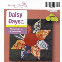 Daisy Days Patchwork Template - Meredithe Clarke Signature Collection Sewing Buddies Australia