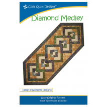 Diamond Medley Pattern by Cozy Quilt Designs Sewing Buddies Australia