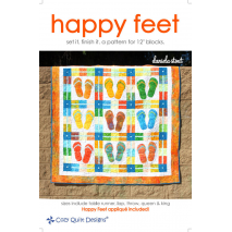 Happy Feet Pattern by Cozy Quilt Designs Sewing Buddies Australia