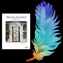 Dream Catcher Dream Big Parrot Panel Bed Runner Kit Sewing Buddies Australia