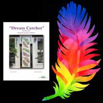 Dream Catcher Dream Big Prism Panel Bed Runner Kit Sewing Buddies Australia