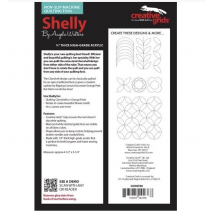 Shelly Creative Grids Non-Slip Free Motion Quilting Tool / Ruler SEE VIDEO 3 Sewing Buddies Australia